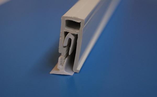 гарпунный стеновой профиль для натяжного потолка